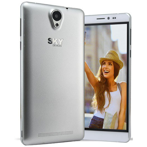 "Sky 6.0L 6.0"" / 8GB / 1.3GHz LTE Cell Phone (Unlocked) - White"