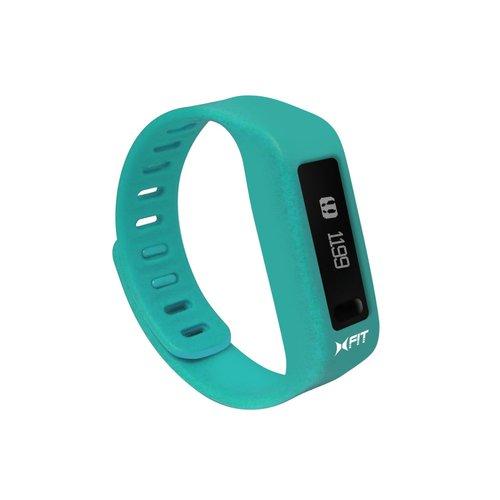 Xtreme XFW40101BLU Activity Tracker Sleep Fitness Band - Turquoise