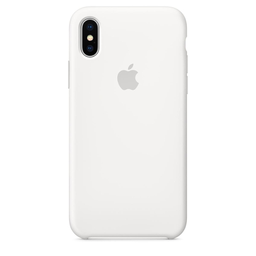 Apple® iPhone X Silicone Case - White