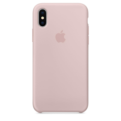 Apple® iPhone X Silicone Case - Pink Sand