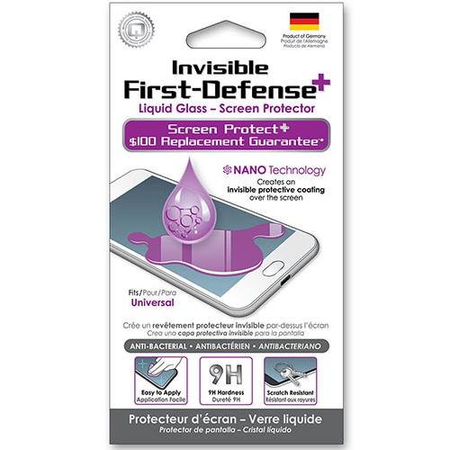Qmadix Invisible First-Defense+ Liquid Glass-Screen Protector