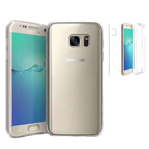 Tri Max Samsung Galaxy S7 Edge Rugged Case - Clear