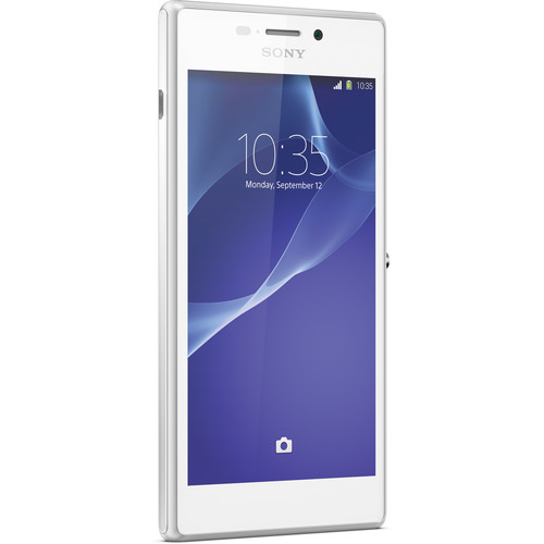Sony Xperia M2 Aqua D2406 / 8GB / 1.2GHz Cell Phone (Unlocked) - White