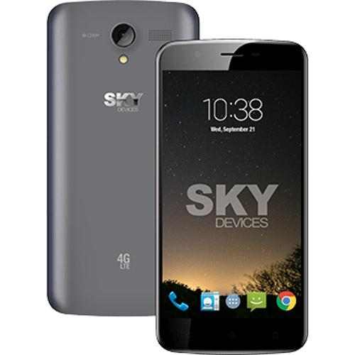 """SKY Elite 5.5L+ Smart Phone with 5.5"""""""" HD (Unlocked) - Gun Metal"""" 20T-EOQ-SKYELITE5.5G"""