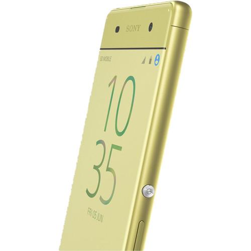 "Sony Xperia XA F3113 5"" / 16GB Cell Phone (Unlocked) - Lime Gold"