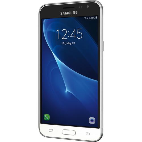 "Samsung Galaxy J3 J320 5.0"" / 16GB Cell Phone (Unlocked) - White"