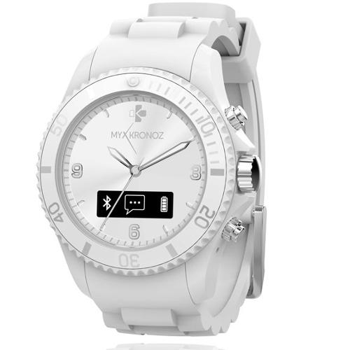MyKronoz ZeClock Analog Smartwatch - White
