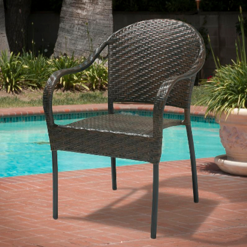 Sunset Outdoor Wicker Chair Multibrown