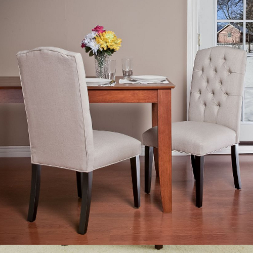 Crown Top Dining Chair Natural