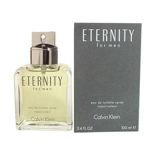 Eternity 3.4 Oz Eau de Toilette Spray