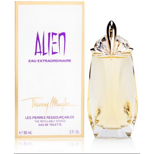 Alien Eau Extraordinaire by Thierry Mugler Refillable Women's Eau de Toilette Spray 3.0 oz