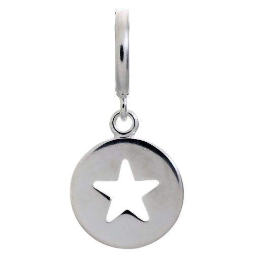 Endless Jewelry Star Coin Charm - Silver