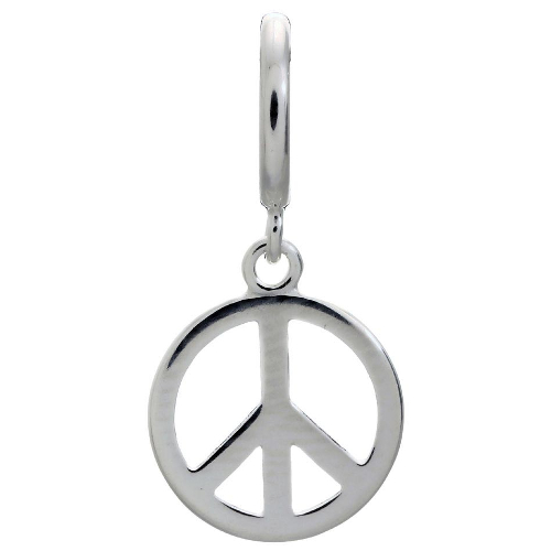 Endless Jewelry Peace Coin Charm - Silver