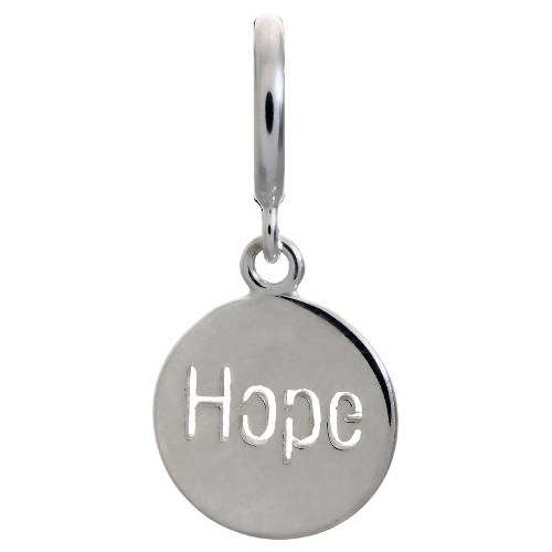 Endless Jewelry Hope Coin Charm - Silver