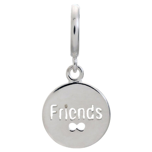 Endless Jewelry Friends Coin Charm - Silver