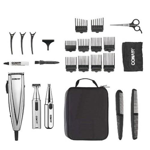 Conair 3-In-1 Haircut/Grooming 25 Piece Kit 22H-H52-HCT401N