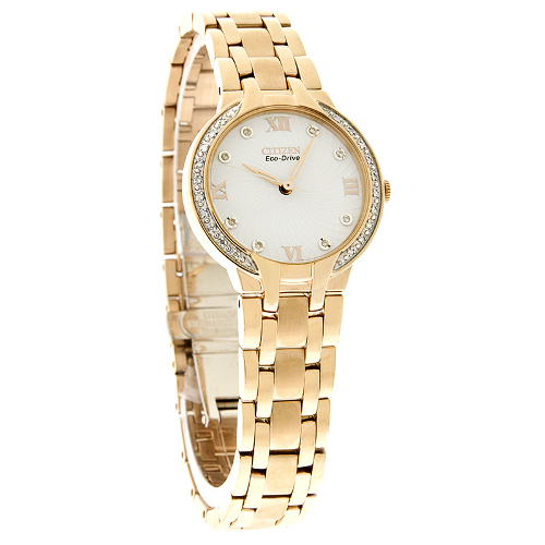 Citizen Eco-Drive Women's Bella Crystal Stainless Steel 60I-H49-EM012350A