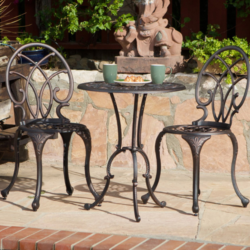 Charleston Bistro 3pc Set Bronze