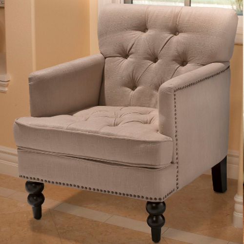 Malone Club Chair Beige