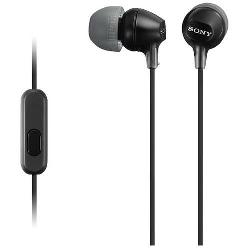 Sony Fashion Color EX Earbud Headset - Black