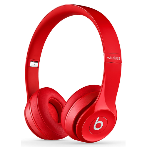 Beats by Dr. Dre Solo2 Wireless On-Ear Headphones - Red