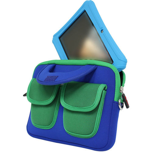 "Epik 7 and 8"" Tablets Learning Case - Blue/Green"