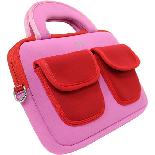 "Epik 7 and 8"" Tablets Learning Case - Pink/Red"