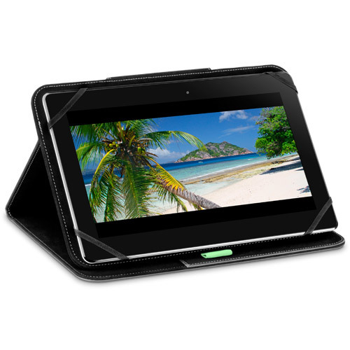 "Puregear Universal Folio Case for Most 7 - 8"" Tablets - Black"