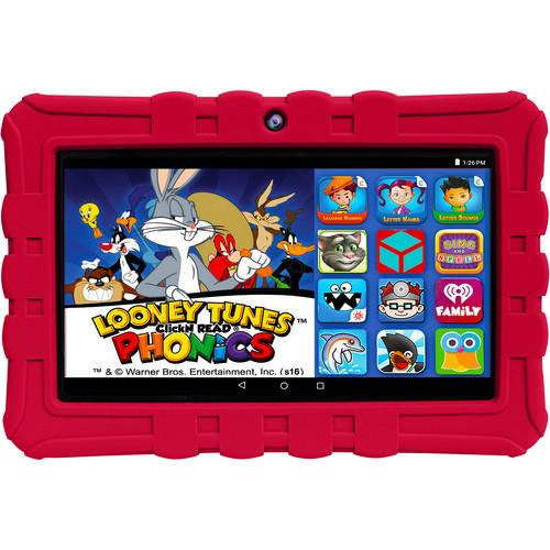 """Epik 7"""" Epik Learning Tab 16GB Tablet - Red"""