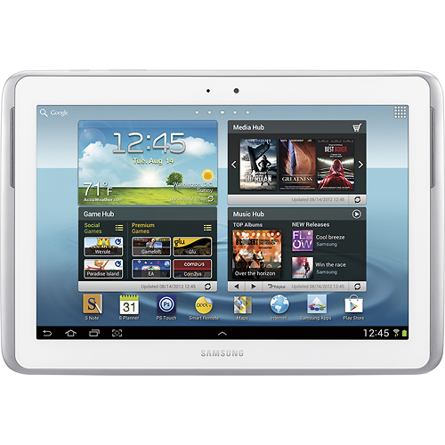Samsung GTN8013ZWYX Galaxy Note 10.1 Tablet / 16GB Memory - White