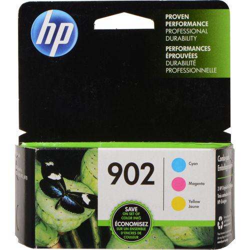 HP 902 3-Pack Ink Combo Cartridge - Cyan/Magenta/Yellow
