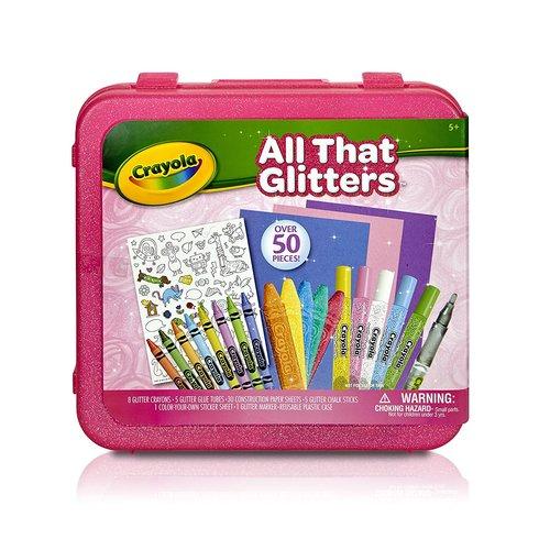 Crayola All That Glitters Art Case 12M-S50-46887