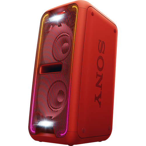 Sony GTK-XB7 Portable Bluetooth Home Audio System - Red