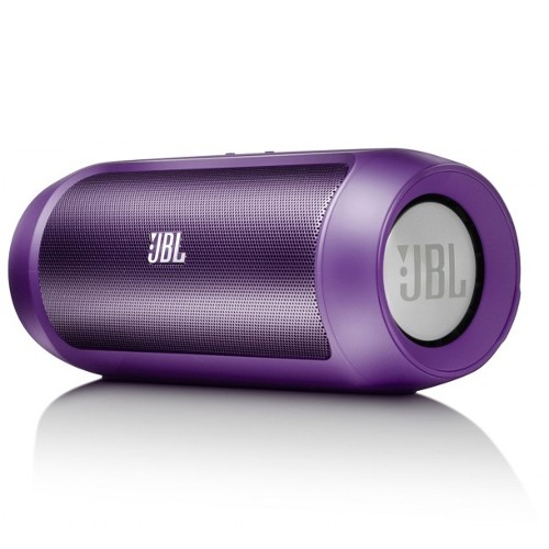 JBL Charge 2 Wireless Bluetooth Speaker with Mic - Purple