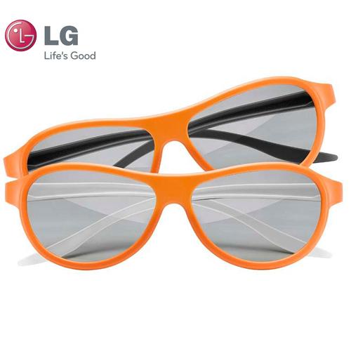 LG AGF310DP Cinema 3D Dual-Play Gaming Glasses (2 Pair) 32A-285-AGF310DP