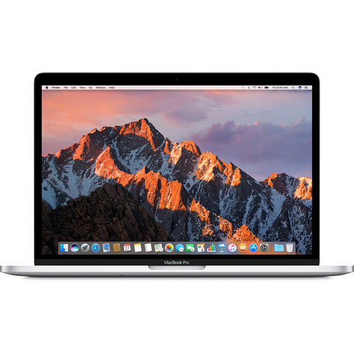 "Apple® MacBook Pro with Touch Bar 13.3"" / 8GB RAM / 256GB Flash Storage (Late 2016) - Silver -  MLVP2LL/A"