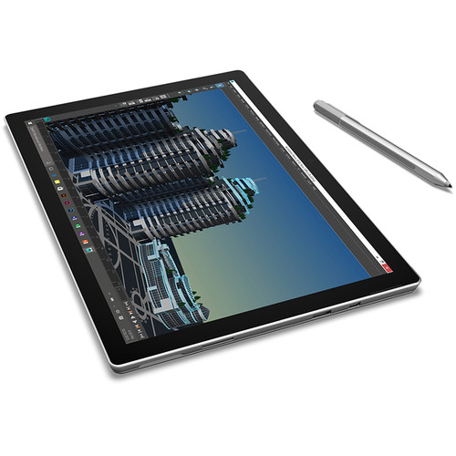 "Microsoft Surface Pro 4 Multi-Touch Tablet 12.3"" / 4GB RAM / 128GB SSD - Silver"