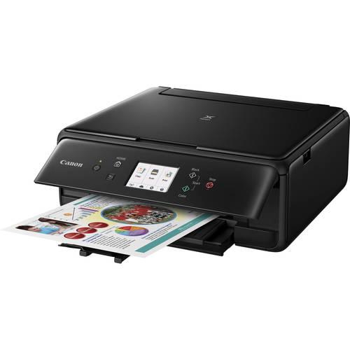 Canon Pixma TS6020BLK Wireless All-in-One Inkjet Printer - Black