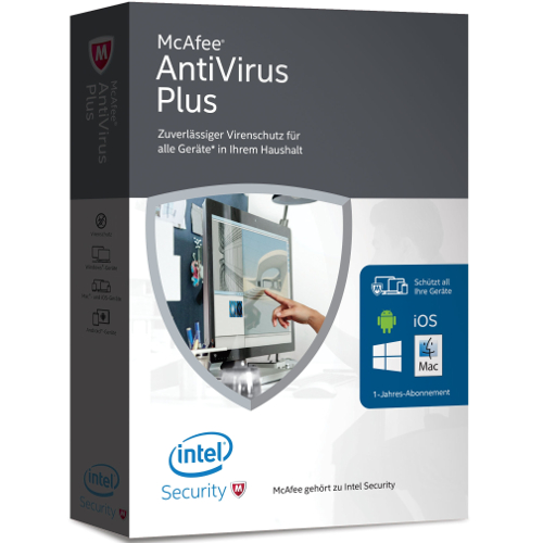 McAfee AntiVirus Plus 2016 for Unlimited Devices