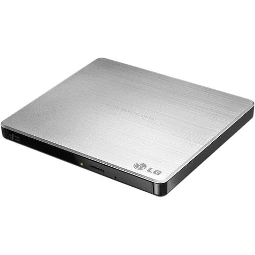 LG GP60NS50 Universal 8x External DVD Disc Writer - Silver