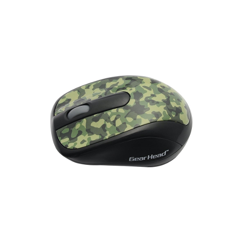 Gear Head Wireless Optical Nano Mouse - Camouflage