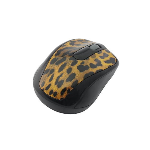 Gear Head Wireless Optical Nano Mouse - Leopard