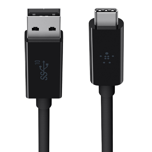 Belkin 3.1 3-Feet USB-A to USB-C Cable - Black