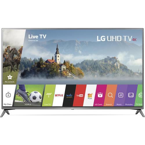 "LG 75UJ6470 UHD 75"""" / 4K UHD / 120 Hz Smart LED HDTV - Silver/Black"" 32Q-285-75UJ6470"