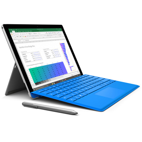 "Microsoft Surface Pro 4 12.3"" 128GB Multi-Touch Tablet - Silver"
