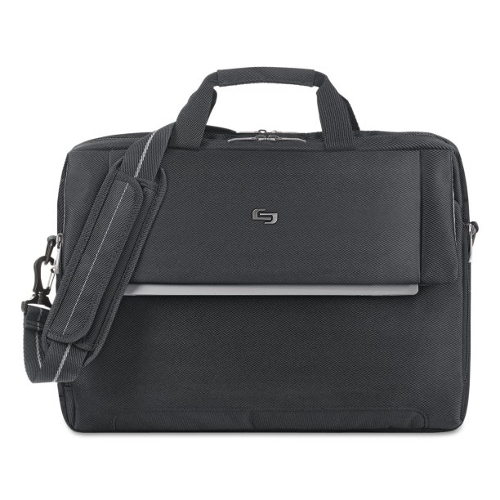 Solo Chrysler 17.3 Inch Laptop Briefcase - Black