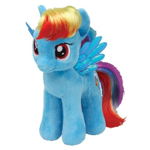 Ty My Little Pony Rainbow Dash Buddy Toy 12P-DOE-90205