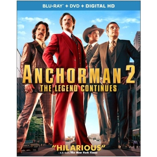 Anchorman 2: The Legend Continues - Blu-Ray + DVD + Digital HD 36C-G30-PARBR7914620