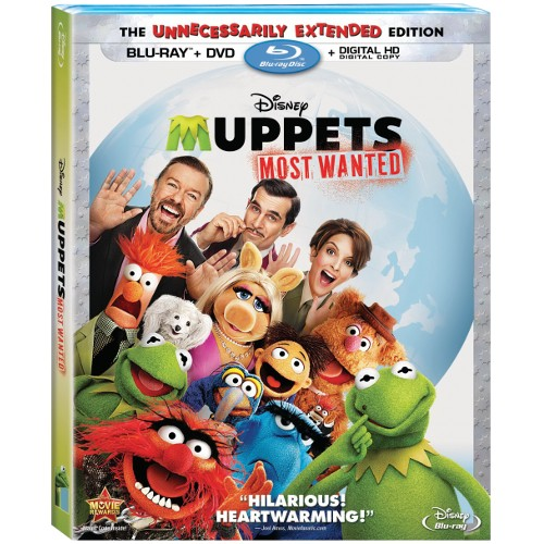 Muppets Most Wanted - Blu-ray + DVD + Digital HD Digital Copy 36F-G30-DISBR120768