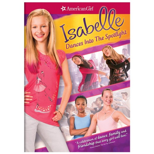 American Girl: Isabelle Dances into the Spotlight - DVD 36F-G30-MCAD63130259